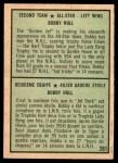 1971 O-Pee-Chee #261   -  Bobby Hull 2nd All-Star Team Back Thumbnail