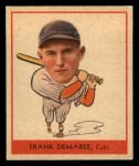 1938 Goudey Heads Up #244  Frank Demaree  Front Thumbnail