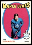1971 O-Pee-Chee #10  Jim Harrison  Front Thumbnail