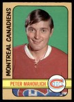 1972 O-Pee-Chee #124  Peter Mahovlich  Front Thumbnail