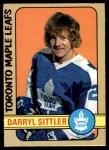 1972 O-Pee-Chee #188  Darryl Sittler  Front Thumbnail