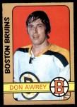 1972 O-Pee-Chee #170  Don Awrey  Front Thumbnail