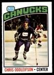 1976 O-Pee-Chee NHL #112  Chris Oddleifson  Front Thumbnail