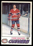 1977 O-Pee-Chee #20  Pierre Bouchard  Front Thumbnail