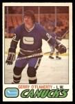 1977 O-Pee-Chee #377  Gerry O'Flaherty  Front Thumbnail