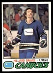 1977 O-Pee-Chee #286  Hilliard Graves  Front Thumbnail