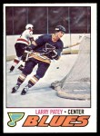 1977 O-Pee-Chee #199  Larry Patey  Front Thumbnail