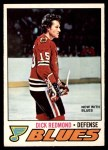 1977 O-Pee-Chee #213  Dick Redmond  Front Thumbnail