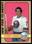 1972 O-Pee-Chee #200  Germaine Gagnon  Front Thumbnail