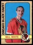 1972 O-Pee-Chee #158  Bill White  Front Thumbnail