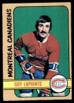 1972 O-Pee-Chee #86  Guy Lapointe  Front Thumbnail