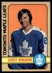 1972 O-Pee-Chee #207  Garry Monahan  Front Thumbnail