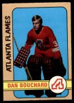 1972 O-Pee-Chee #203  Dan Bouchard  Front Thumbnail