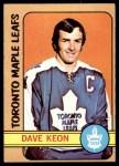 1972 O-Pee-Chee #108  Dave Keon  Front Thumbnail