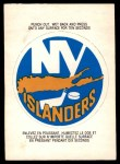 1973 O-Pee-Chee Team Logos #11   Islanders Logo Front Thumbnail