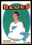 1971 O-Pee-Chee #223  George Morrison  Front Thumbnail