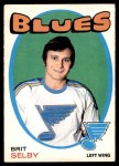 1971 O-Pee-Chee #226  Brit Selby  Front Thumbnail