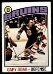 1976 O-Pee-Chee NHL #7  Gary Doak  Front Thumbnail