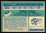 1976 O-Pee-Chee NHL #51  Eric Vail  Back Thumbnail