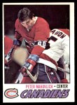 1977 O-Pee-Chee #205  Pete Mahovlich  Front Thumbnail