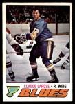 1977 O-Pee-Chee #167  Claude Larose  Front Thumbnail