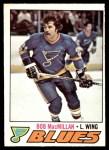1977 O-Pee-Chee #141  Bob MacMillan  Front Thumbnail