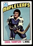 1976 Topps #259  Errol Thompson  Front Thumbnail