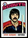 1976 Topps #19  Steve Durbano  Front Thumbnail