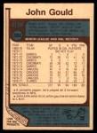 1977 O-Pee-Chee #382  John Gould  Back Thumbnail