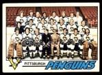 1977 O-Pee-Chee #84   Penguins Team Front Thumbnail