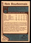 1977 O-Pee-Chee #312  Rick Bourbonnais  Back Thumbnail