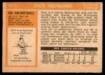 1972 O-Pee-Chee #151  Dick Redmond  Back Thumbnail