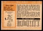 1972 O-Pee-Chee #187  Bill Flett  Back Thumbnail
