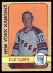 1972 O-Pee-Chee #132  Gilles Villemure  Front Thumbnail