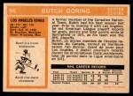 1972 O-Pee-Chee #56  Butch Goring  Back Thumbnail