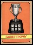 1972 O-Pee-Chee #134   Calder Trophy Winners Front Thumbnail