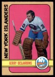 1972 O-Pee-Chee #119  Gerry Desjardins  Front Thumbnail