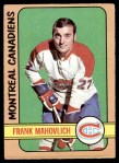 1972 O-Pee-Chee #102  Frank Mahovlich  Front Thumbnail