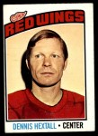 1976 O-Pee-Chee NHL #32  Dennis Hextall  Front Thumbnail