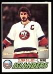 1977 O-Pee-Chee #250  Clark Gillies  Front Thumbnail