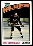 1976 Topps #38  Bob MacMillan  Front Thumbnail