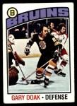 1976 Topps #7  Gary Doak  Front Thumbnail