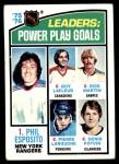 1976 Topps #5   -  Esposito / LaFleur / Martin / LaRouche / Potvin Power Play Goals Front Thumbnail