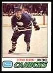 1977 O-Pee-Chee #175  Dennis Kearns  Front Thumbnail