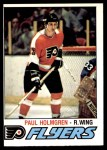 1977 O-Pee-Chee #307  Paul Holmgren  Front Thumbnail