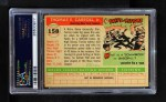 1955 Topps #158  Tom Carroll  Back Thumbnail