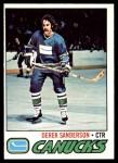 1977 O-Pee-Chee #46  Derek Sanderson  Front Thumbnail