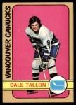 1972 O-Pee-Chee #121  Dale Tallon  Front Thumbnail