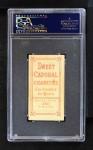 1909 T206  Roy Brashear  Back Thumbnail