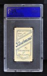 1909 T206  Bill Carrigan  Back Thumbnail